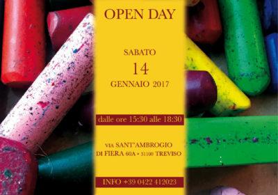 Open day <br /> 14 gennaio 2017