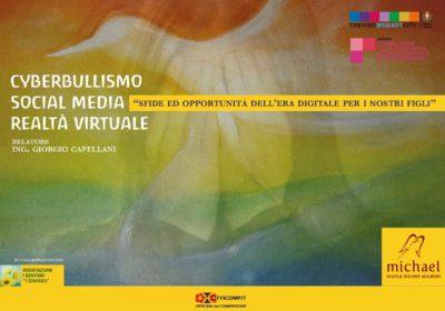 Cyberbullismo, Social media, <br /> Realtà virtuale &#8211; Conferenza