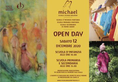Open day <br />Sabato 12 dicembre 2020