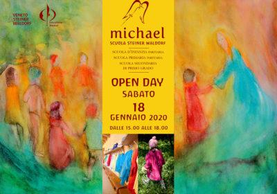 Open day <br />Sabato 18 gennaio 2020